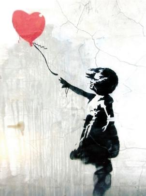 Girl and Heart